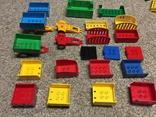 1 Vintage Lego Duplo Train Cars Topper Accessory pick your own