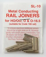 Peco SL-10 rail joiners (24) for HO/OO, O & O-16.5, suitable for Code 100 rail