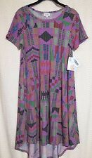 LuLaRoe Carly XS Black Purple Red Green Coral Blue Pink  FREE SHIP Extra Small