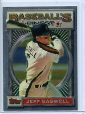 JEFF BAGWELL - 1993 TOPPS FINEST - CARD #11 - FREE SHIPPING