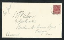 CANADA 1925 NORTHERN AIR SERVICE with CL5 - Haileybury to Rouyn Lake
