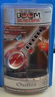 NEW Boom BLASTERS GUITAR 2006 Plug N Play RED MP3 Battery Sounds Music 4+