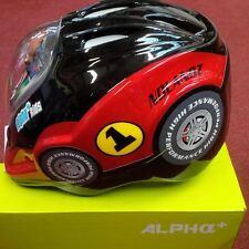 Alpha Plus Junior Helmet Car 52-56cm Dial Fit