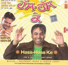 HASS HASS KE - BHAGWANT MANN & JAGTAR JAGGI - BRAND NEW COMEDY CD - FREE UK POST