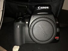 canon camera EOS REBEL XTI EOS 400D BLACK BODY WITH A EFS 18-55mm LENSES