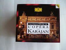 Coffret 5 CD Les chefs d'oeuvre de l'opéra par Karajan