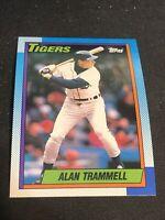 1990 Topps # 440 Alan Trammell  Detroit Tigers