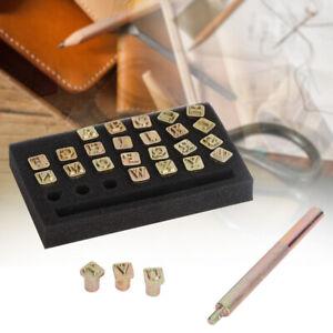 6mm Metal Letters DIY Leather Stamper Punching Tool Stamp Alphabet Die Tool Craf