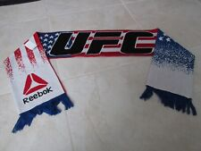 NEW REEBOK UFC Scarf Ultimate Fighting Red White Blue Flag