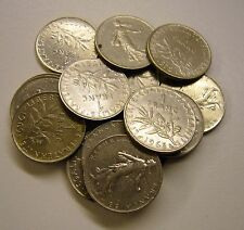 1960 to 1978 France 1 Franc Coin Your choice of 5 from list