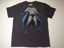 Batman Gray Short Sleeve Shirt Size XL Old Navy Mens Totally Classic Superhero