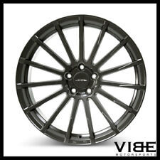 "20"" ACE DEVOTION GREY CONCAVE WHEELS RIMS FITS FORD MUSTANG SHELBY GT GT500"
