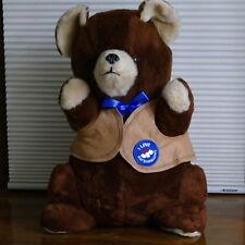 """Toasten T Bear Kraft Marshmallow 18"""" Stuffed Plush Teddy Bear Russ 1981 ~ New"""