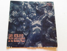 LES STRAND  JAZZ CLASSICS ON THE BALDWIN ORGAN 1956 RED WAX