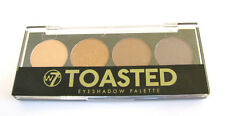 W7 Toasted Quad Eyeshadow Palette - Brown Eye Shadow - Factory Sealed