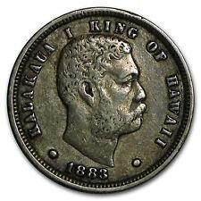 1883 Hawaii Ten Cents VF - SKU #55467