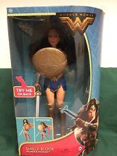 """12"""" Shield Block Wonder Woman Doll New In Box"""