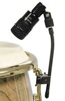 2 Audix DClamp Drum Microphone Clamps D-Clamp Clip Conga Bongo Hand Drums