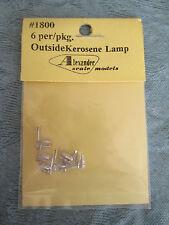 Alexander Scale Ho #1800 Outside kerosene lamp 6/