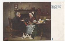 Darby & Joan, Illustrated Songs, Tuck 1152 Postcard #4, A716