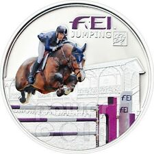 FEI JUMPING Horse Federation Equestre Internationale Silver Coin 5D Andorra 2013