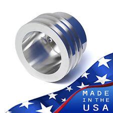 Ford Crankshaft Pulley 289 302 V-Belt SBF Crank SBF 3 Groove 3 Aluminum A/C AC