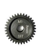 33T 8MM MOD-1 SAGA PINION GEAR *HARDENED STEEL* xlx/xl2/hobao/arrma/losi/serpent