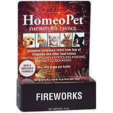 HomeoPet Fireworks - formerly Anxiety Tfln (Thunderstorms, Fireworks, Loud