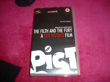 THE FILTH AND THE FURY a sex pistols film, vhs cassette tape, vgc