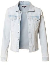 NYDJ Light Blue Stretch Denim Jacket BNWT Designer Womens Coat Clothing