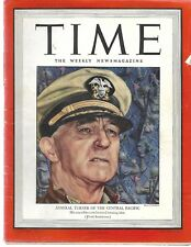 Time Magazine Admiral Turner of the Central Pacific February 7 1944