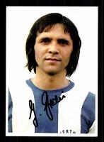 Gerhard Grau Autogrammkarte Hertha BSC Berlin Spieler 70er Jahre Original Sign