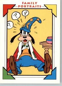 1991 Impel Disney Family Portraits Comic Strip # 157  Goofy