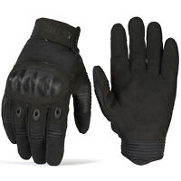 Touch Screen Tactical Full Finger Gloves Paintball Shooting Hunting Motorcycle