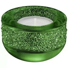 New Swarovski Shimmer Tealight Candle Holder Green #5108880