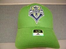 New Seattle Sounders FC Adult Mens Size S/M Adidas Cap Hat $22
