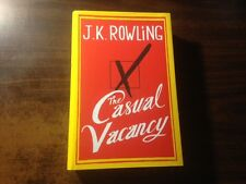The Casual Vacancy by J.K. Rowling 1st Hardcover w/ Dust Jacket 2012 UK Editon