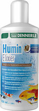 Dennerle Humin Elixir Humic Fulvic Essence Catappa Extract Aquarium 250ml