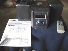JVC UX 5000 Home Audio System w/ 2 SP-UX5000 Speakers and Remote