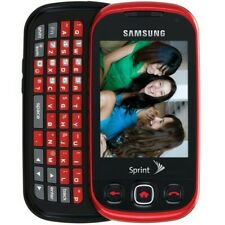 Samsung Seek SPH-M350 - Red (Sprint) Cellular Phone BRAND NEW IN BOX