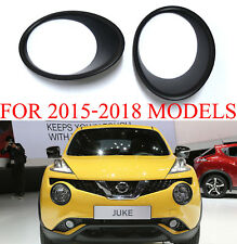 MATTE BLACK HEAD LAMP LIGHT COVER FOR NISSAN JUKE HATCHBACK 2015-2018 FACELIFT