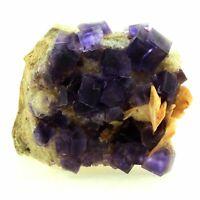 Fluorit+Baryte+Quarz. 760.0 Ct. La Cabaña, Berbes, Asturien, Spanien