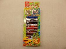 "Racing Champions Street Wheels ED ""Big Daddy"" Roth Rat Fink Die Cast 5 Pack  #2"