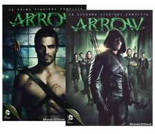 ARROW - PRIMA E SECONDA STAGIONE #1,2 (10 DVD) COFANETTO SERIE TV COMPLETA