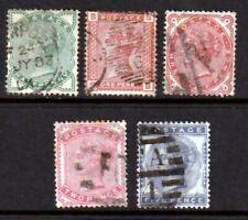 SG164-169 1880-81 Set(554)