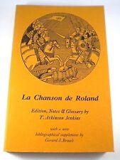 LA CHANSON DE ROLAND T Atkinson Jenkins 1977 Oxford Edition Old French Paperback