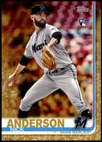 Nick Anderson 2019 Topps Update 5x7 Gold #US145 RC /10 Marlins