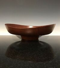 MCM Vintage Danish Modern Wooden Centerpiece By Finn Juhl For Kay Bojesen