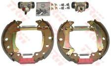 GSK1014 TRW Brake Shoe Set Rear Axle