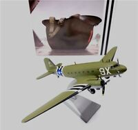 New 1:100 Scale WWII US Army 101 Airborne C47 Transport Aircraft Diecast Model